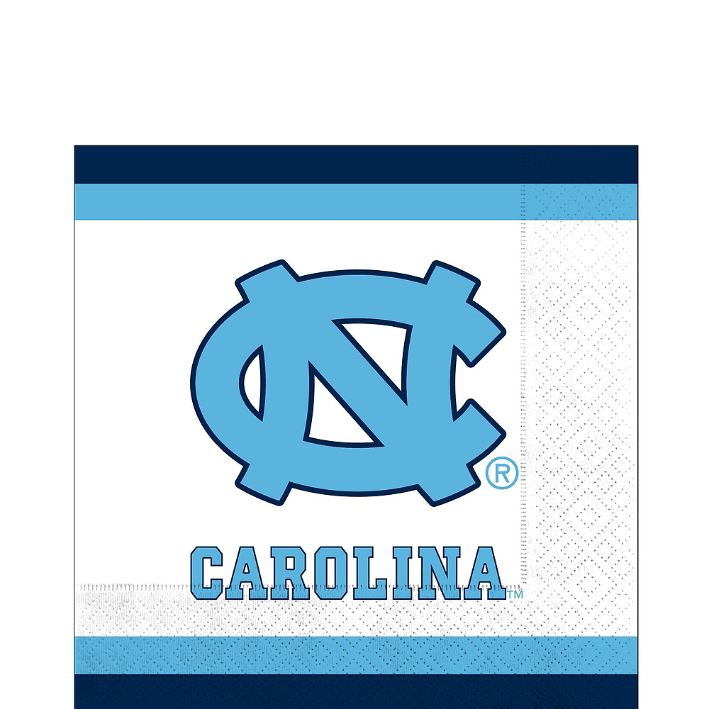 North Carolina Tar Heels Party Kit for 40 Guests Image #5