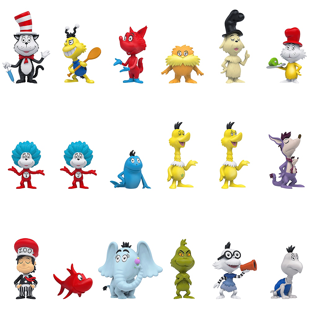 Cast Of The Cat In The Hat: Funko Mystery Minis Dr. Seuss Characters Mystery Box