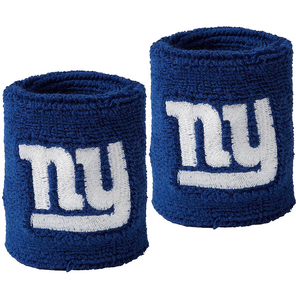 New York Giants Sweat Bands 2ct Image #1