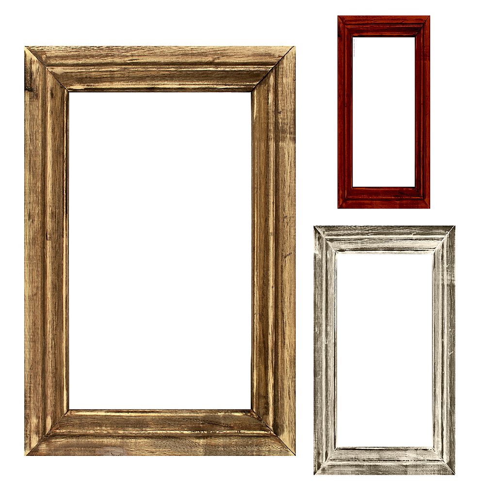Rustic Photo Booth Frames 3ct | Party City