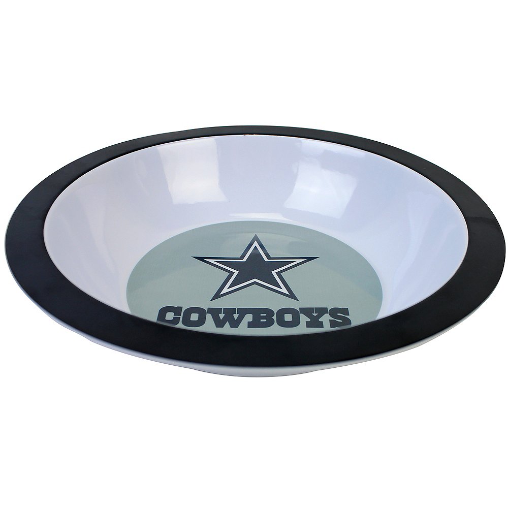 Dallas Cowboys Logo Serving Bowl Image #1
