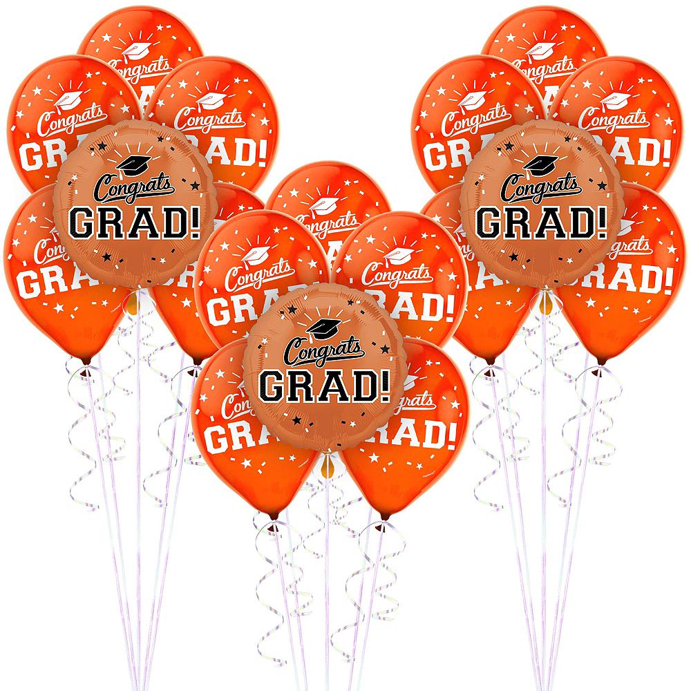 Orange Graduation Balloon Kit Image #1