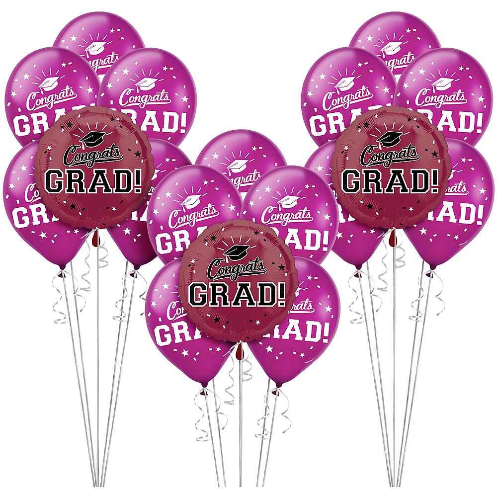 Berry Graduation Balloon Kit Image #1