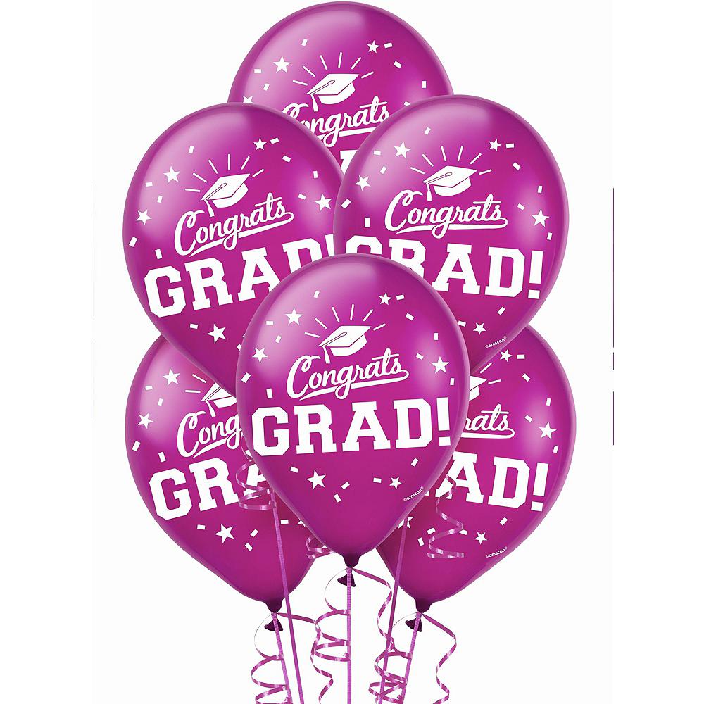 Berry Graduation Balloon Kit Image #2