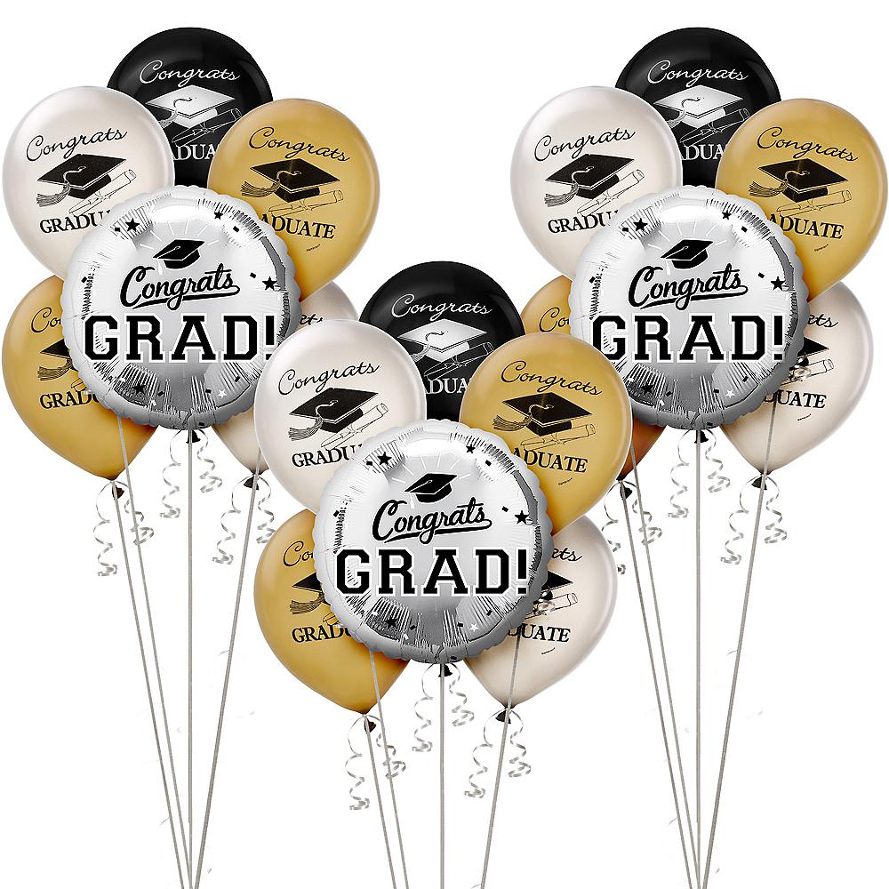 Silver Graduation Balloon Kit Image #1
