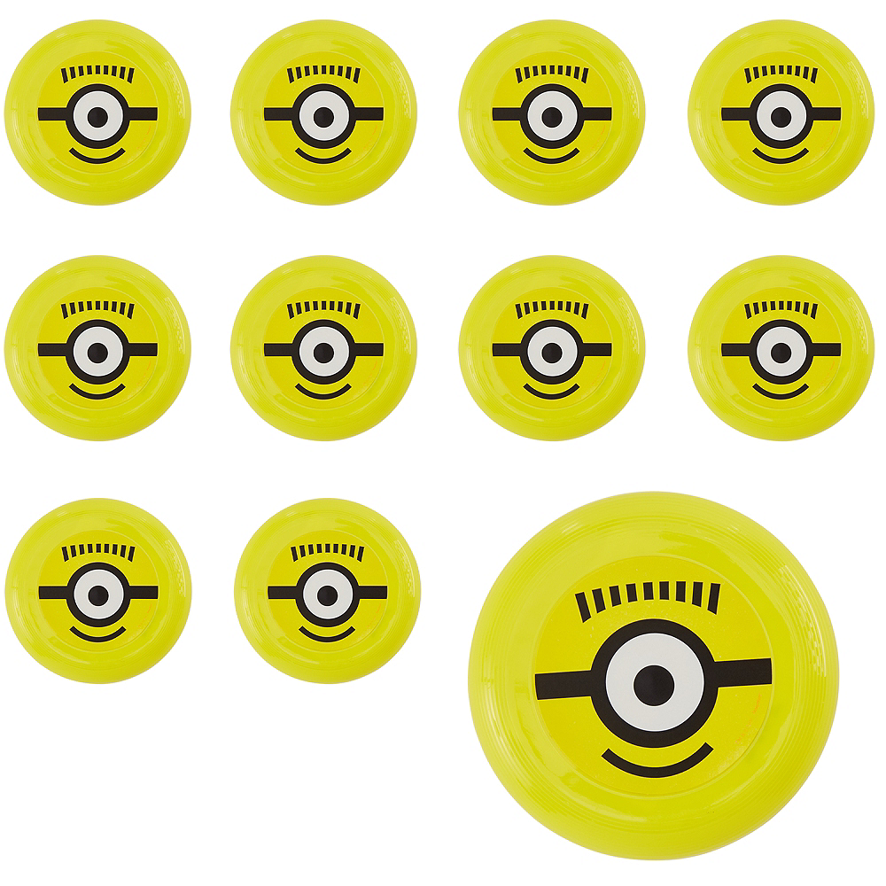 Minions Flying Discs 48ct Image #1