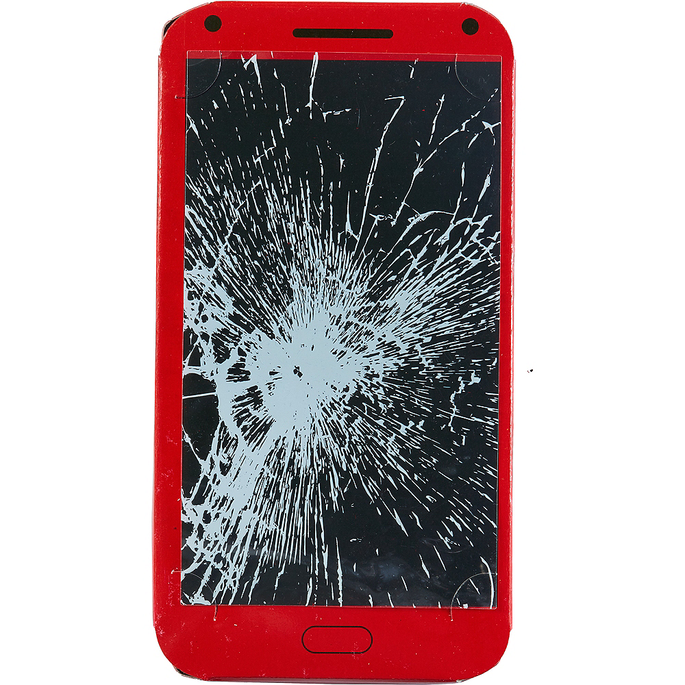 Cracked Screen Sticker Image #1