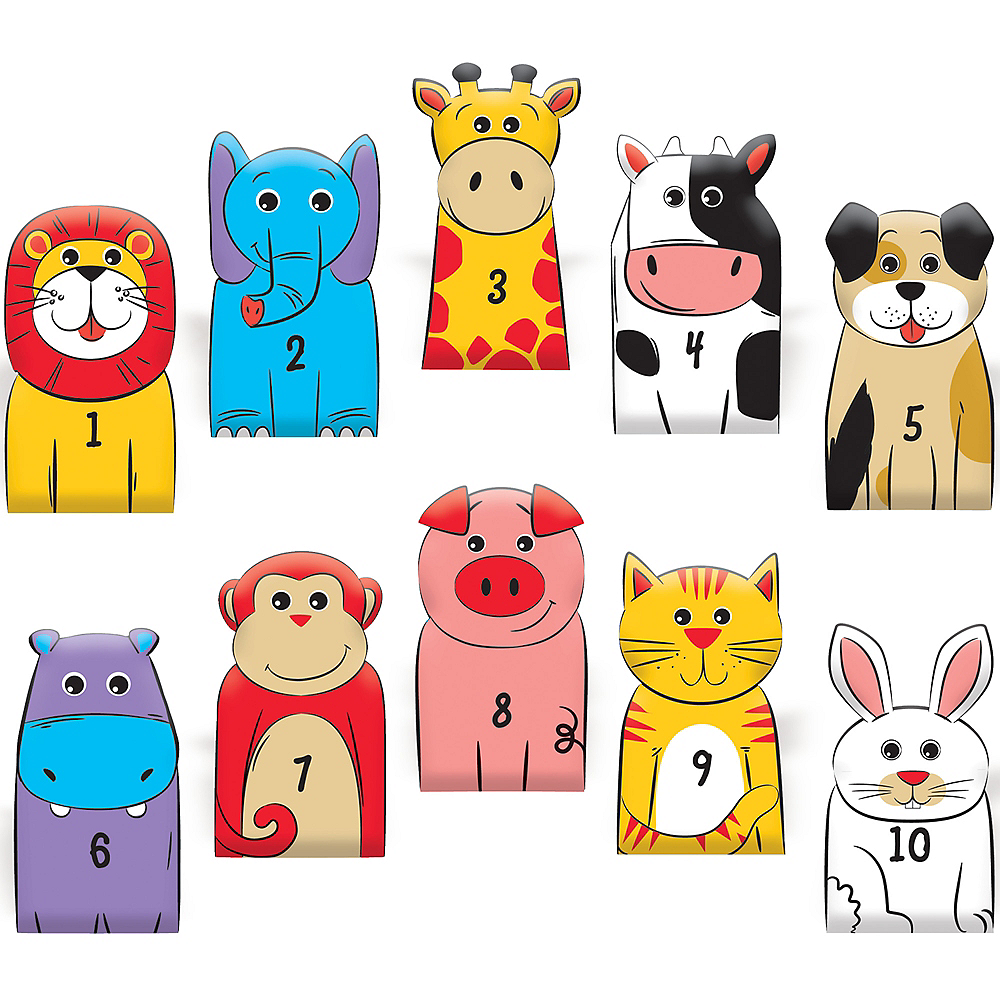 Animal Finger Puppets 100ct Image #1