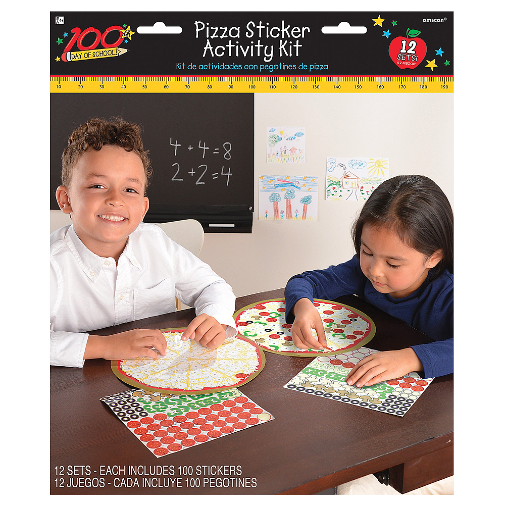 Nav Item for Pizza Sticker Activity Kits 12ct Image #1