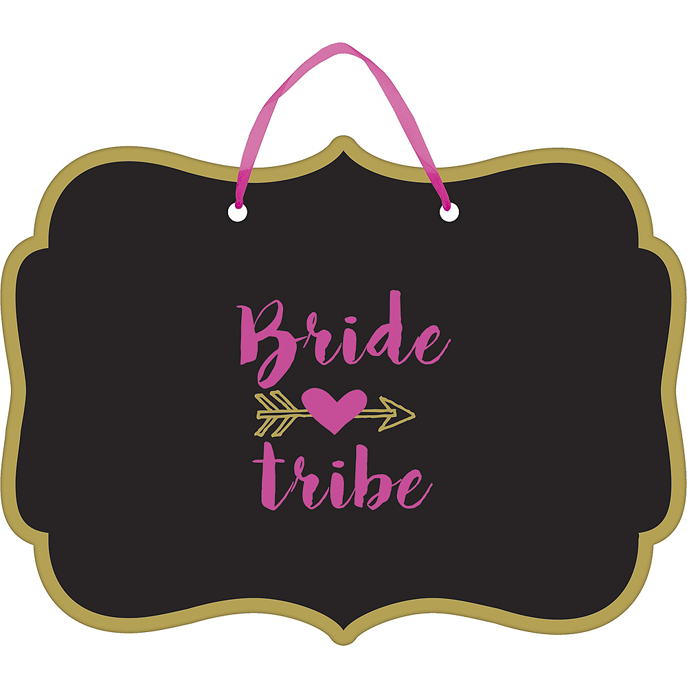Bride Tribe Wedding Sign Image #1