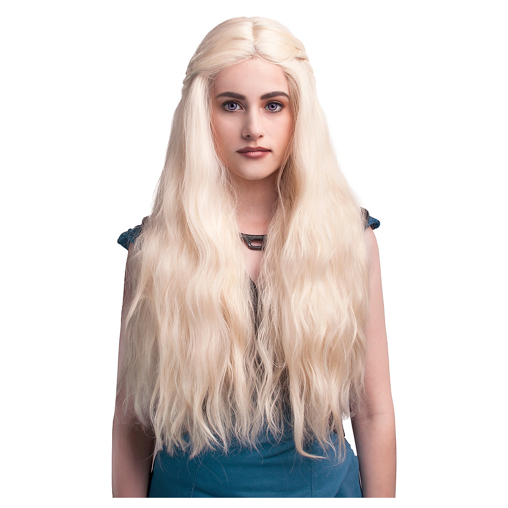 Nav Item for Blonde Braided Wig Image #1