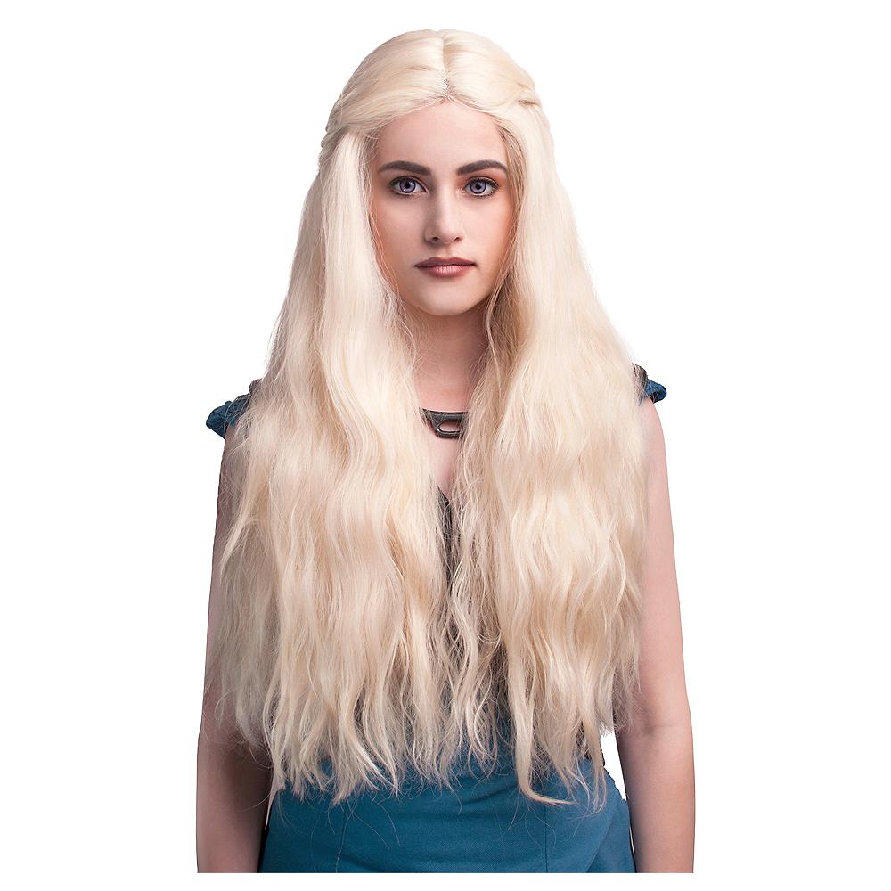 Blonde Braided Wig Image #1