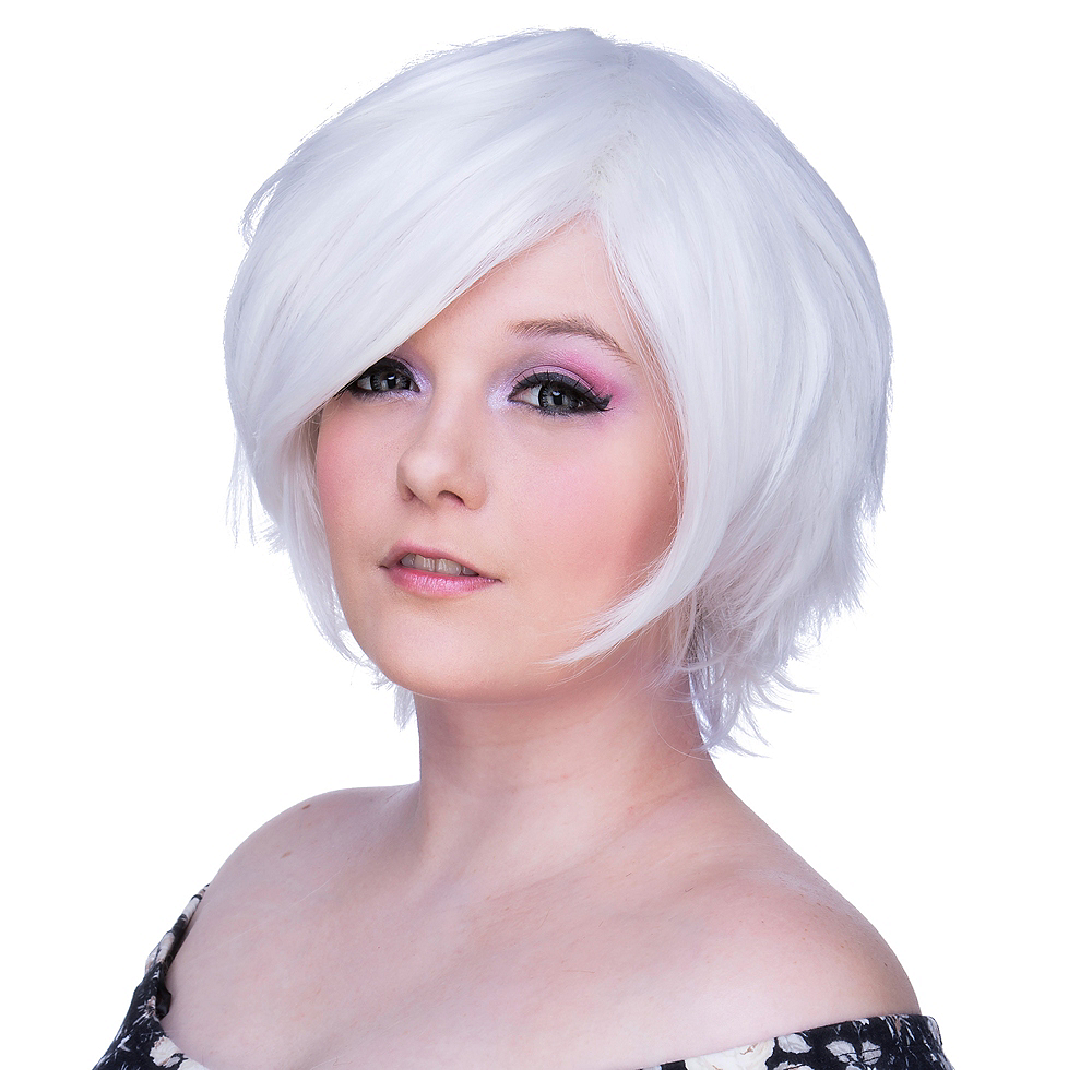 Nav Item for Short White Wig Image  1 ... 3d6e66022ed4