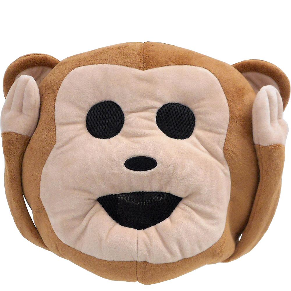 Oversized Hear-No-Evil Monkey Icon Mask Image #1