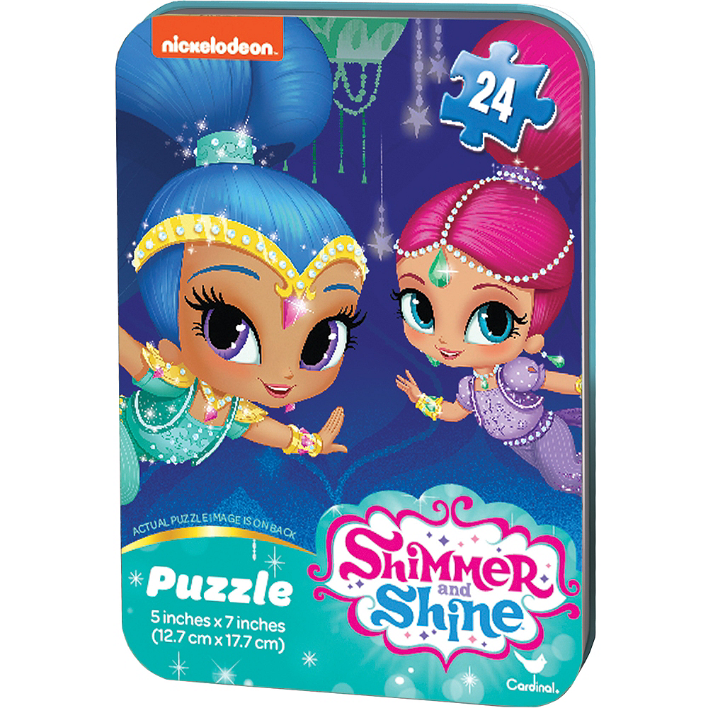 Shimmer and Shine Puzzle Tin 24pc Image #1