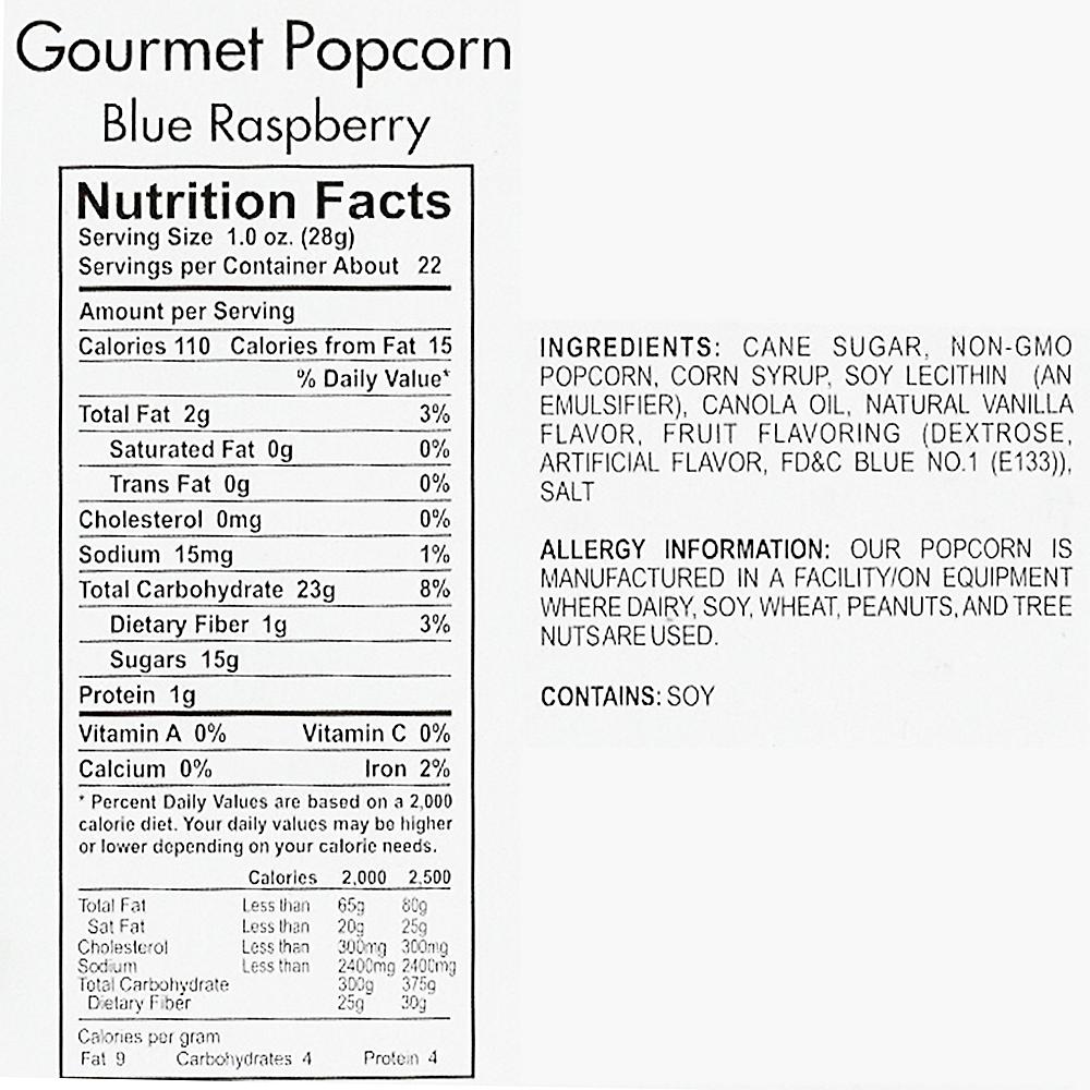 Blueberry Gourmet Popcorn Image #4