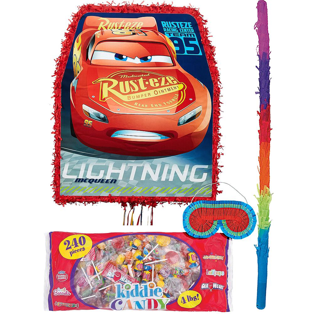 Lightning McQueen Pinata Kit - Cars 3 Image #1