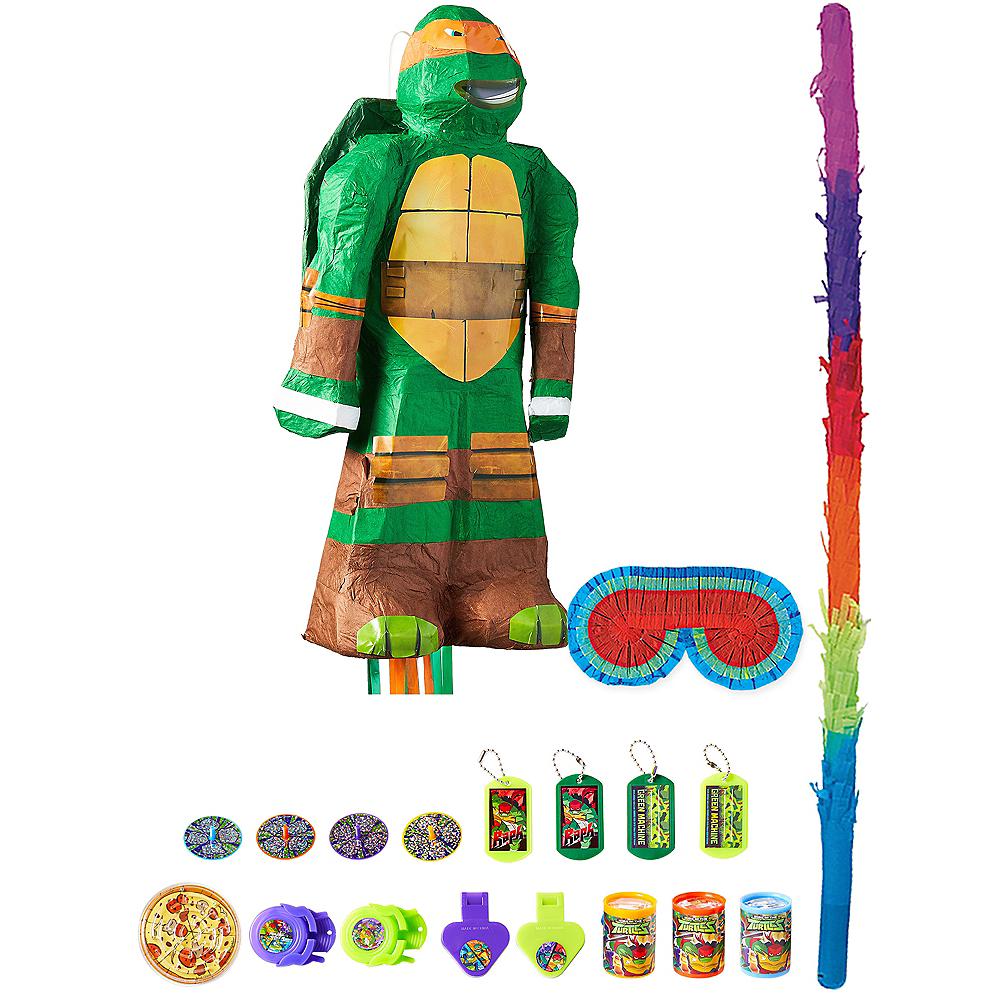 Michelangelo Pinata Kit with Favors - Teenage Mutant Ninja Turtles Image #1