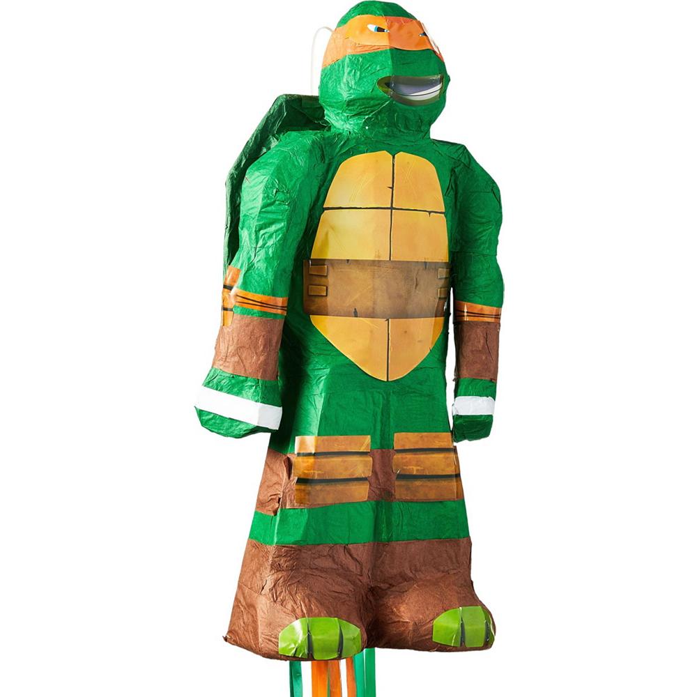 Michelangelo Pinata Kit with Favors - Teenage Mutant Ninja Turtles Image #5