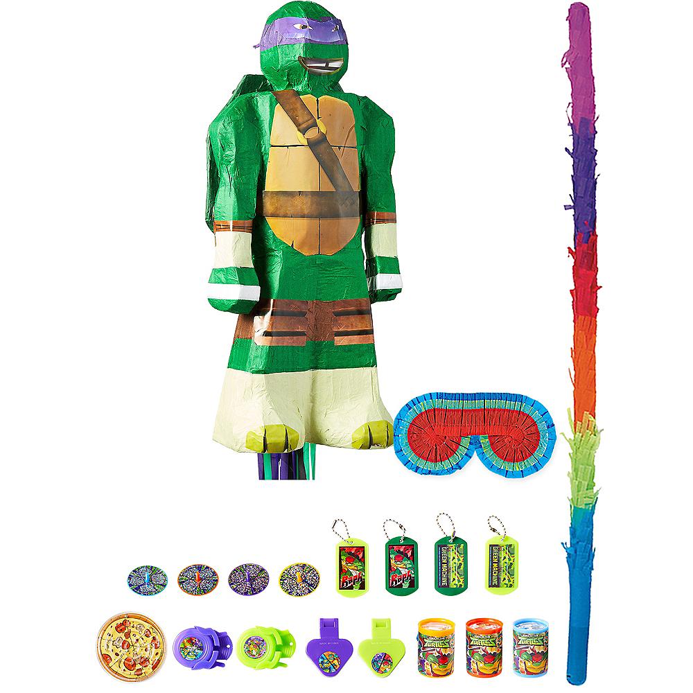 Donatello Pinata Kit with Favors - Teenage Mutant Ninja Turtles Image #1