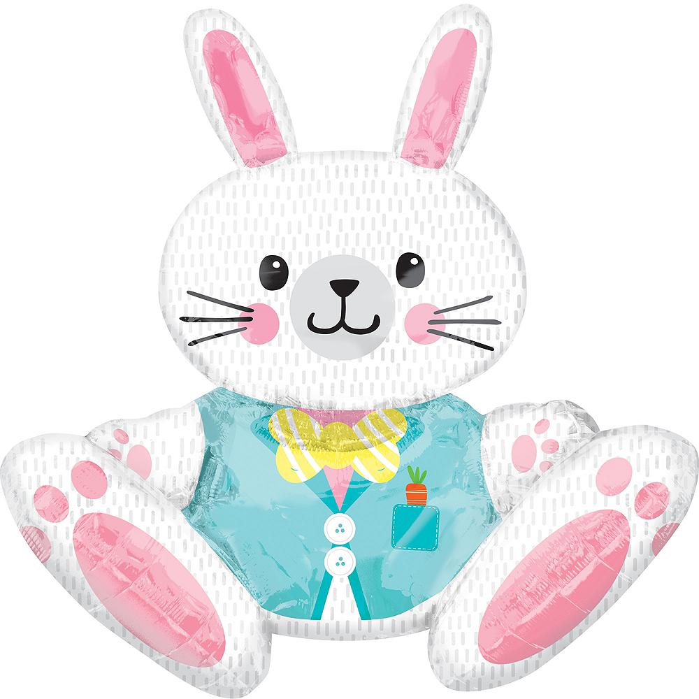 Giant Easter Bunny Balloon Image #1