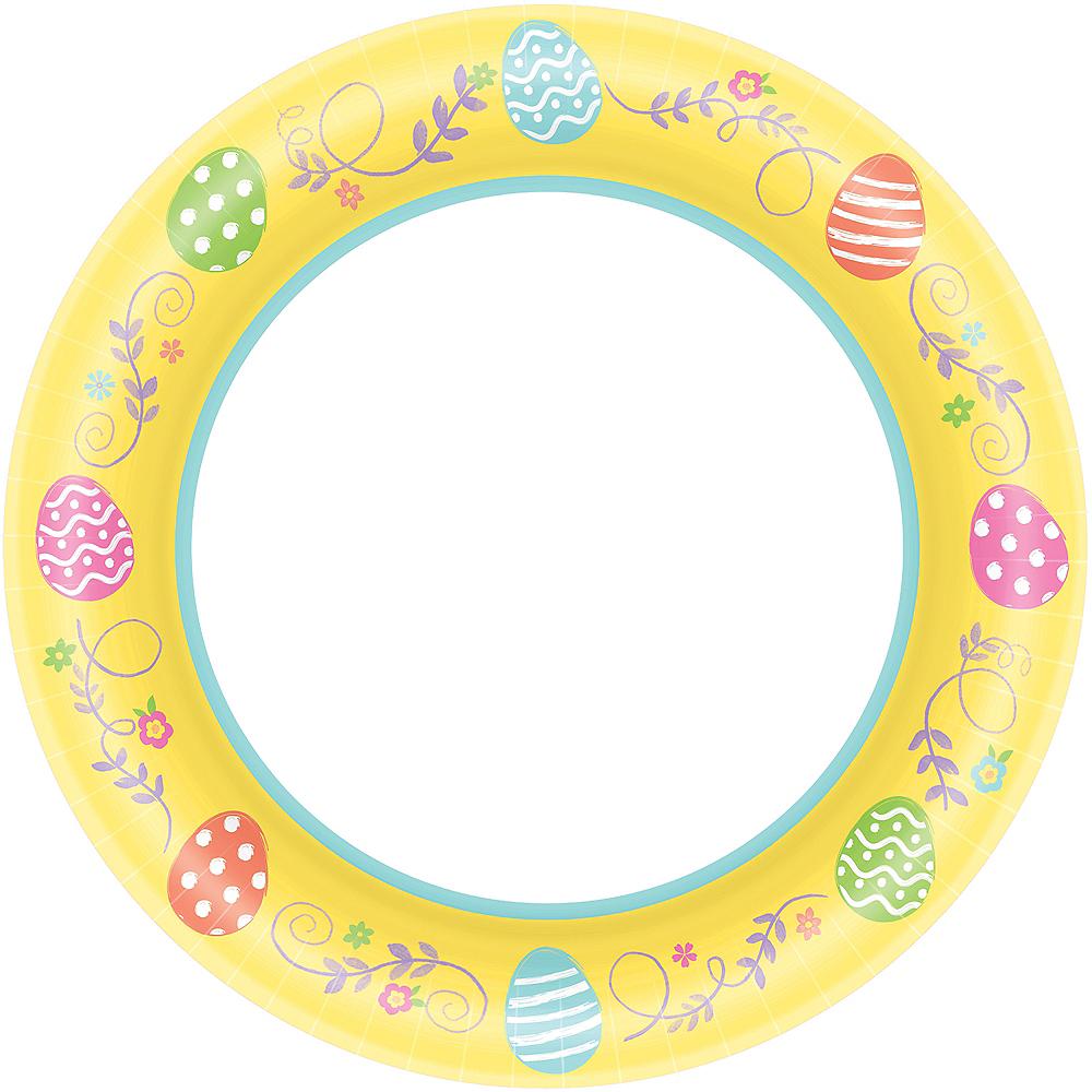 Egg-cellent Easter Dinner Plates 40ct Image #1