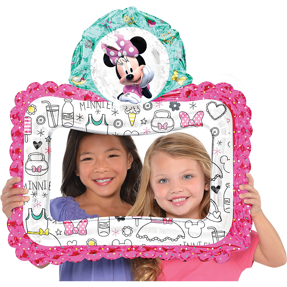 Inflatable Minnie Mouse Balloon Frame Image #1
