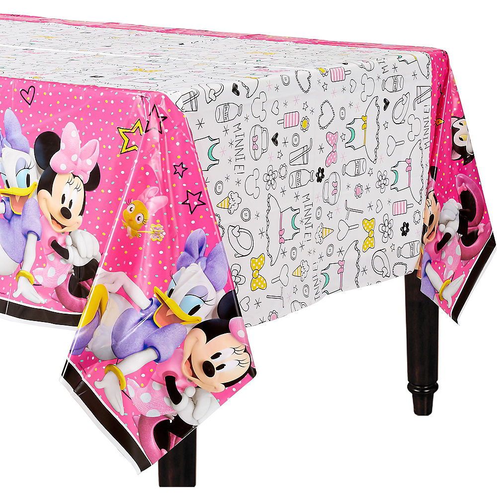 Minnie Mouse Table Cover Image #1