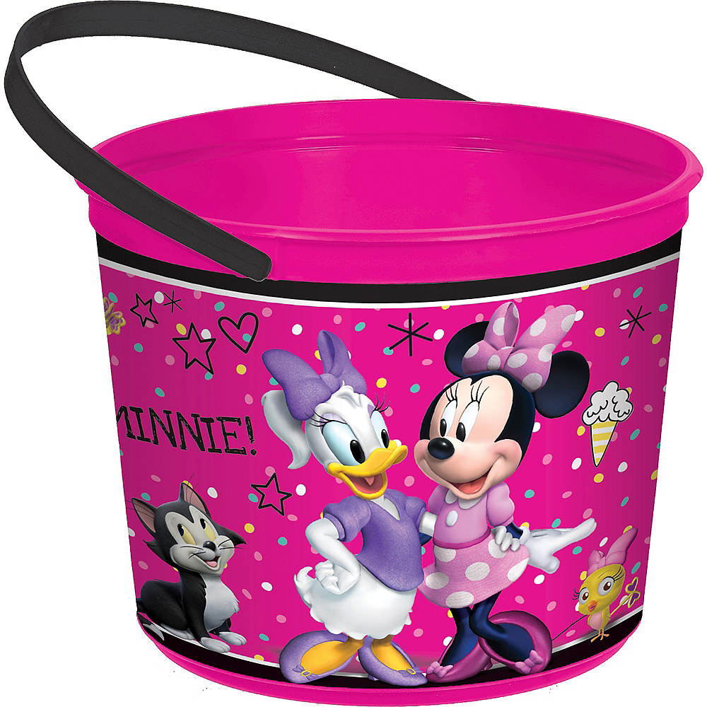 Minnie Mouse Favor Container Image #1