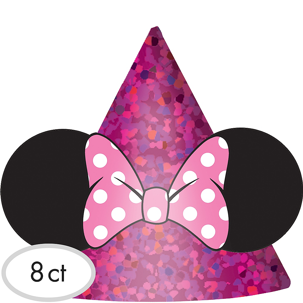 Minnie Mouse Party Hats 8ct Party City