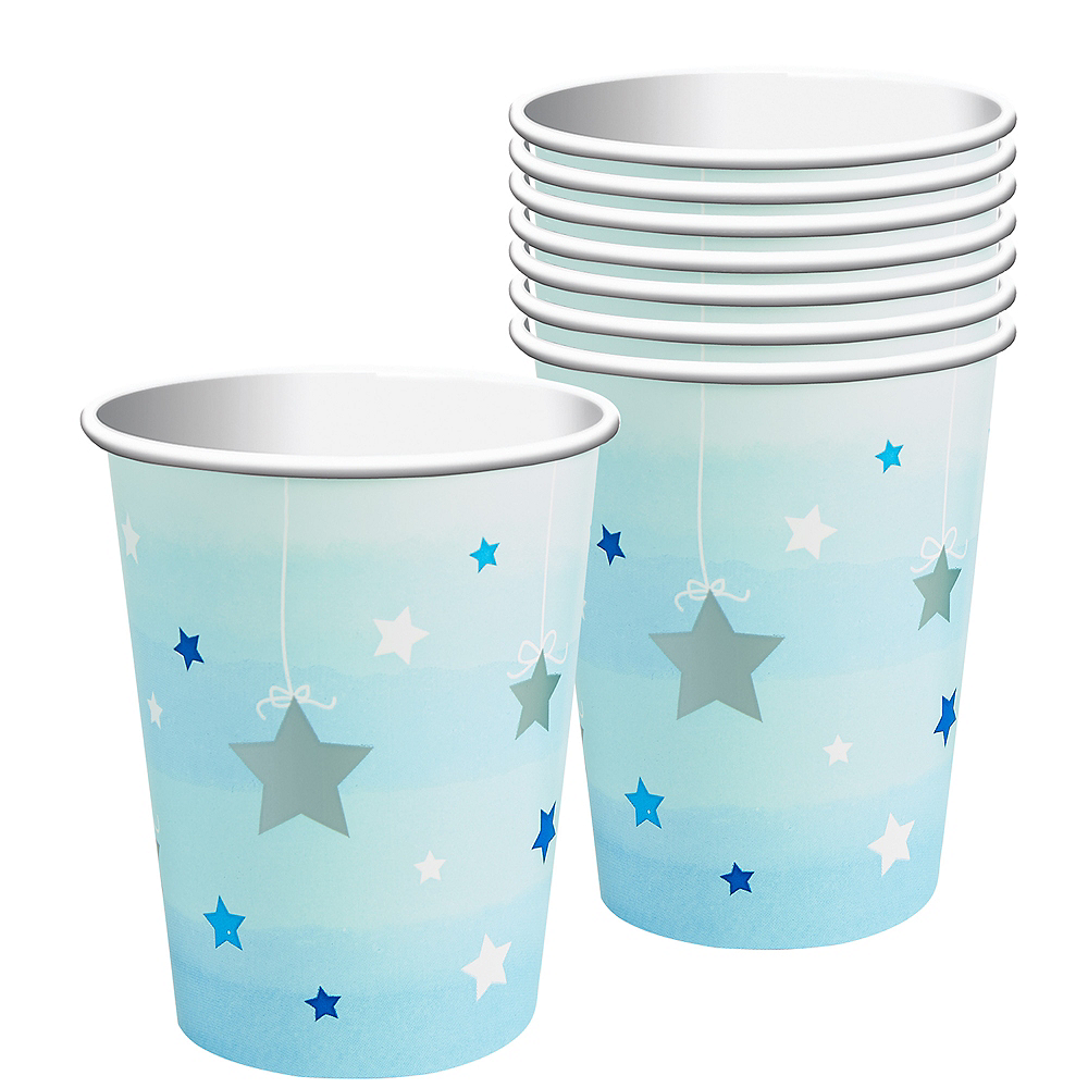 Nav Item for Blue Twinkle Twinkle Little Star Cups 8ct Image #1