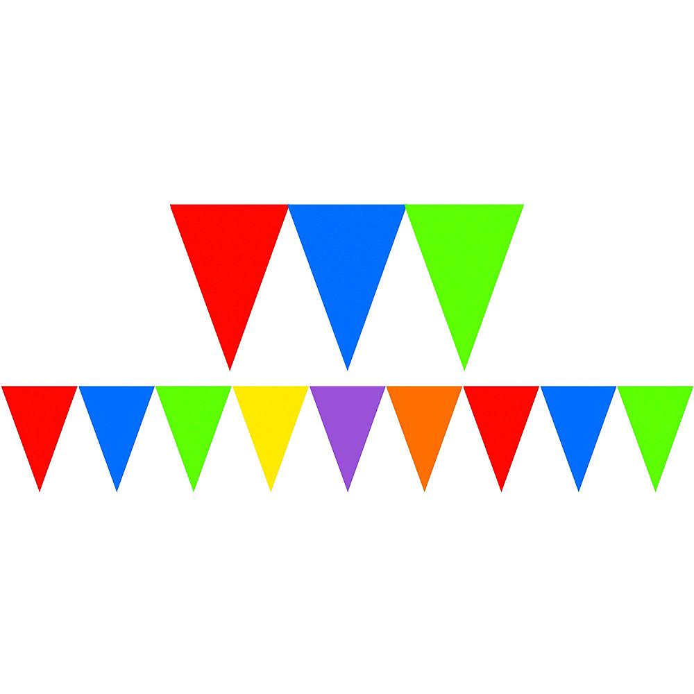 Rainbow Polka Dot & Chevron Decorating Kit Image #3