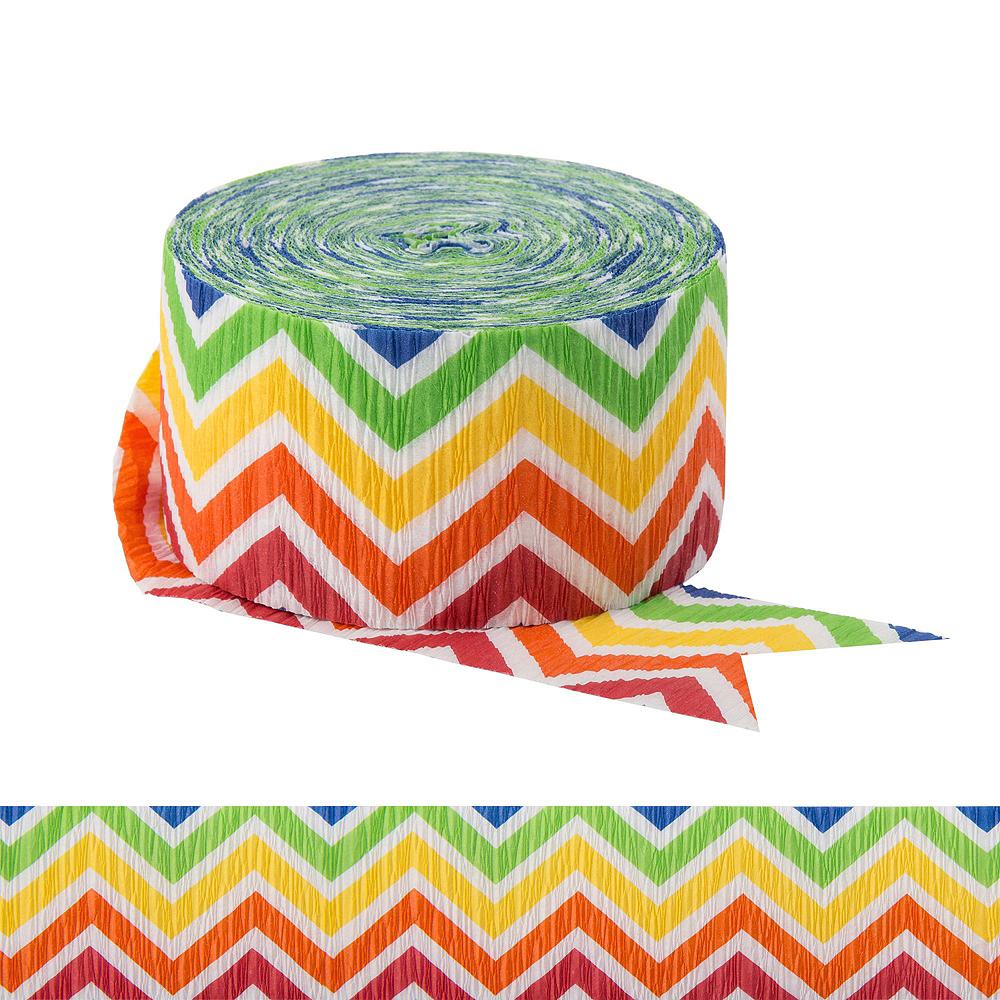 Rainbow Polka Dot & Chevron Decorating Kit Image #4