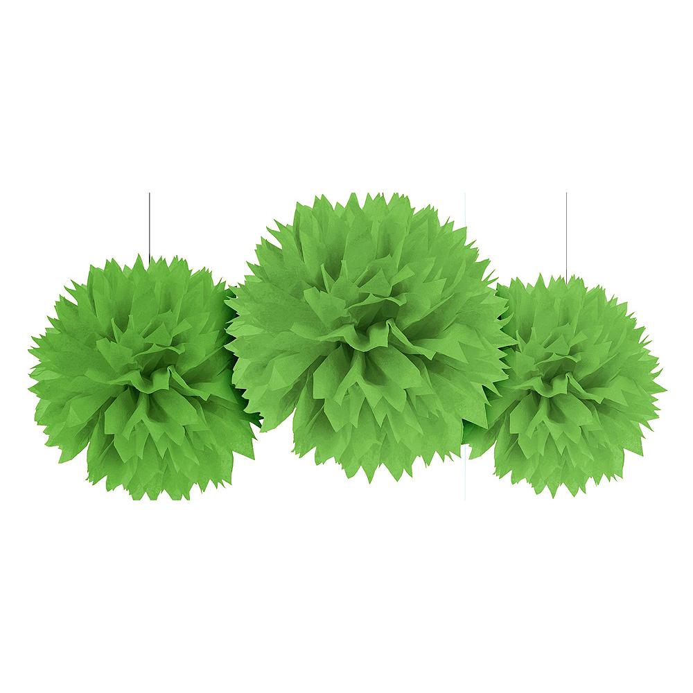Kiwi Polka Dot & Chevron Decorating Kit Image #3