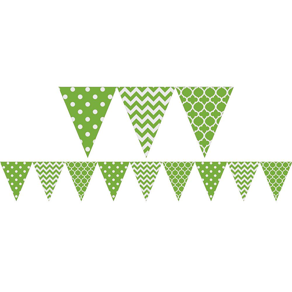 Kiwi Polka Dot & Chevron Decorating Kit Image #6