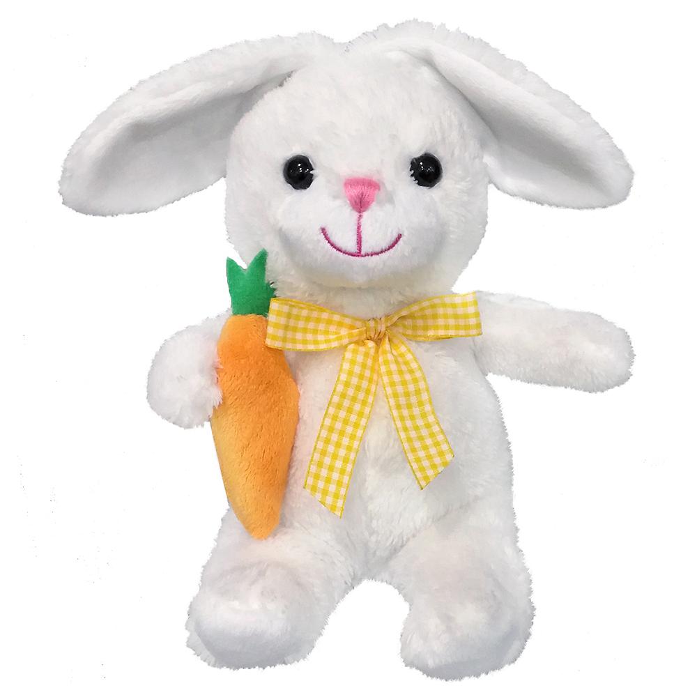 White Easter Bunny Plush Image #1