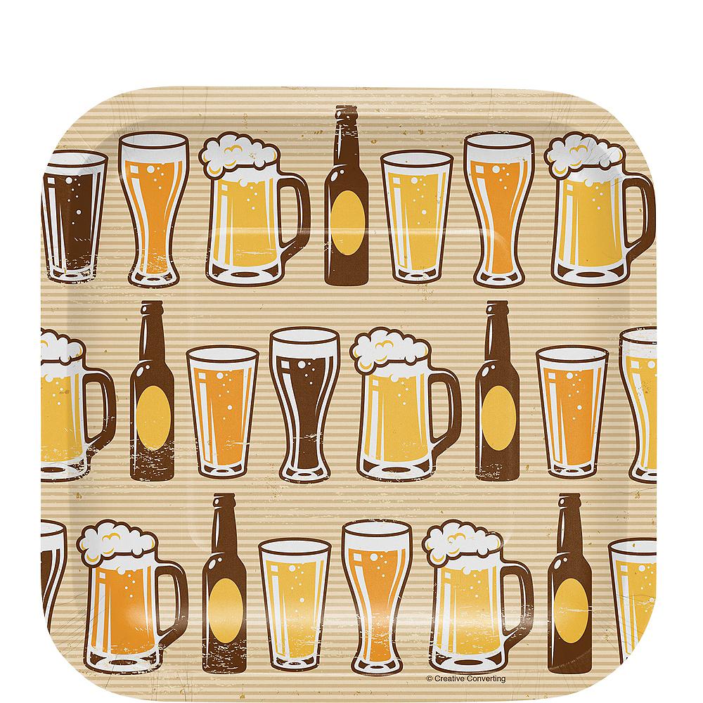 Cheers & Beers Dessert Plates 8ct Image #1