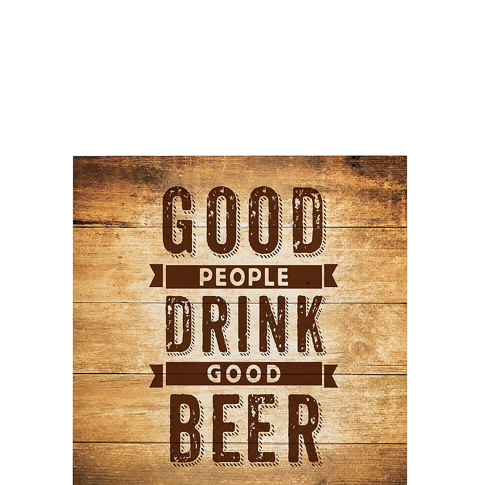 Drink Good Beer Beverage Napkins 16ct Image #1