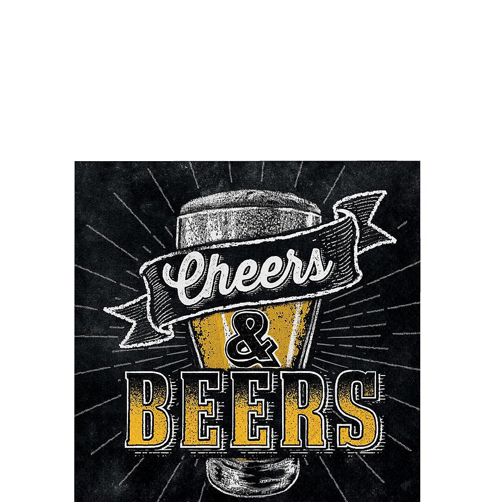 Cheers & Beers Beverage Napkins 16ct Image #1