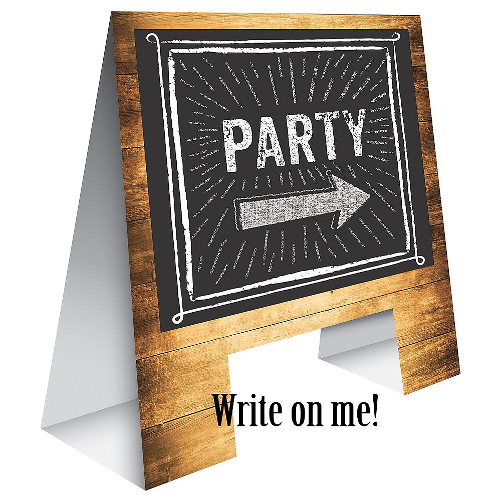 Bar Table Chalkboard Easel Sign Image #1