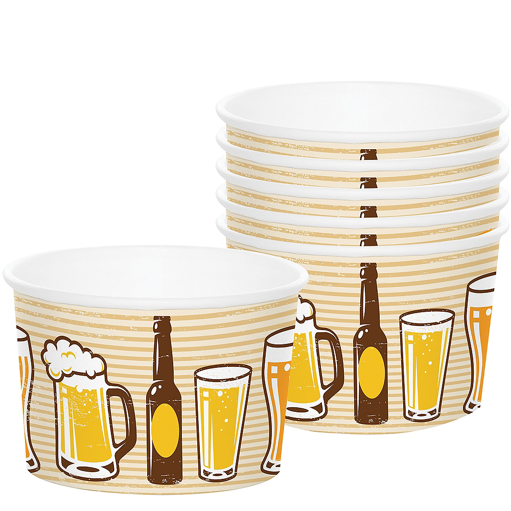 Cheers & Beers Treat Cups 6ct Image #1