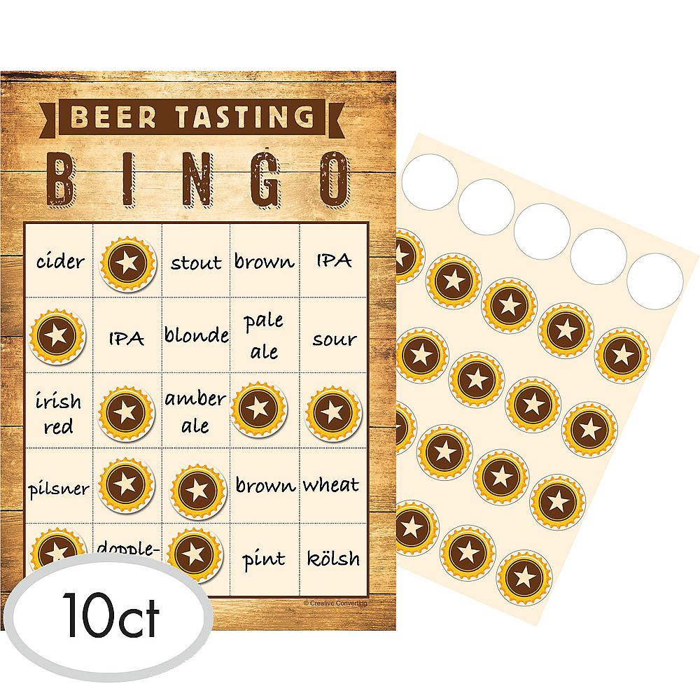 Beer Tasting Bingo Game Image #1