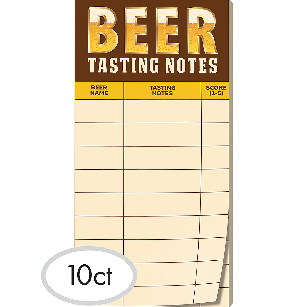 Beer Tasting Note Sheets 30ct Image #1