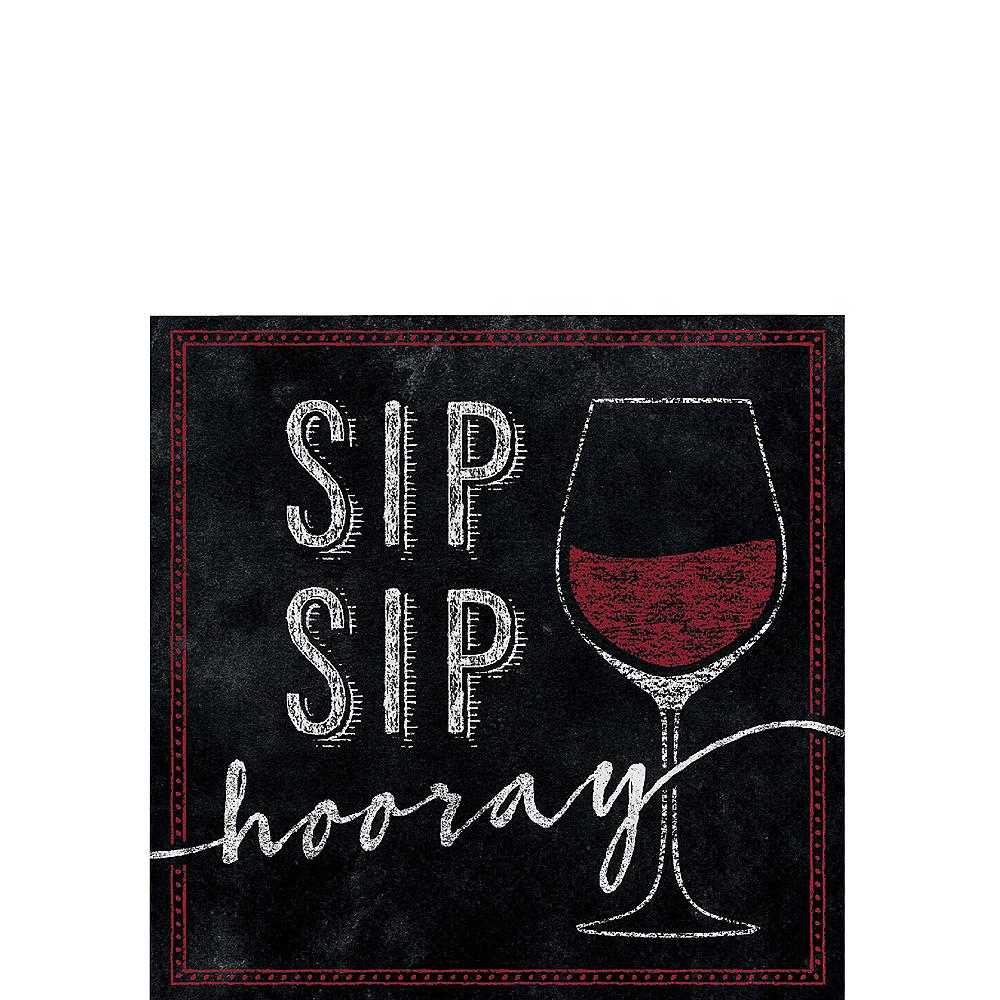 Sip Sip Hooray Beverage Napkins 16ct Image #1