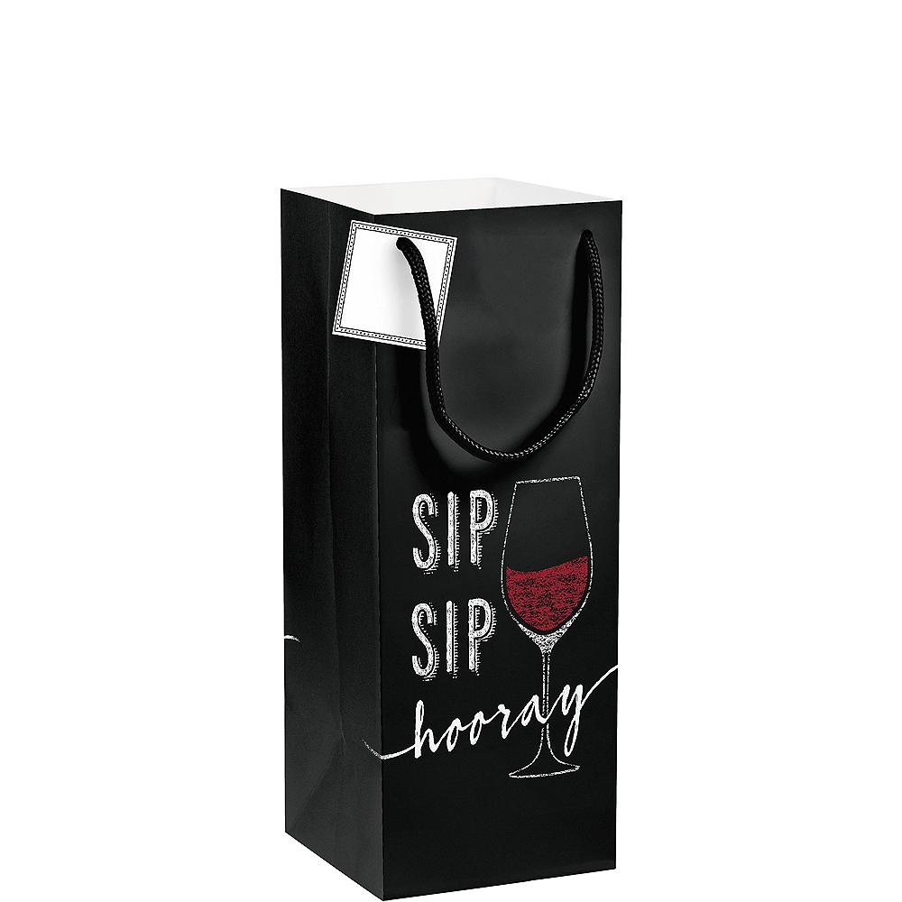 Sip Sip Hooray Bottle Bag Image #1