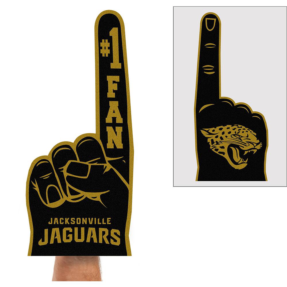 Jacksonville Jaguars Foam Finger Image #1
