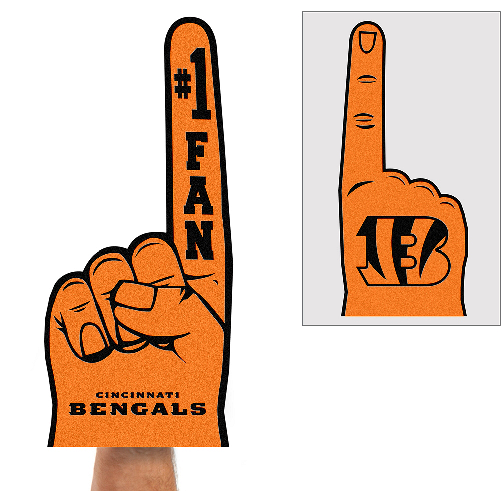 Nav Item for Cincinnati Bengals Foam Finger Image #1