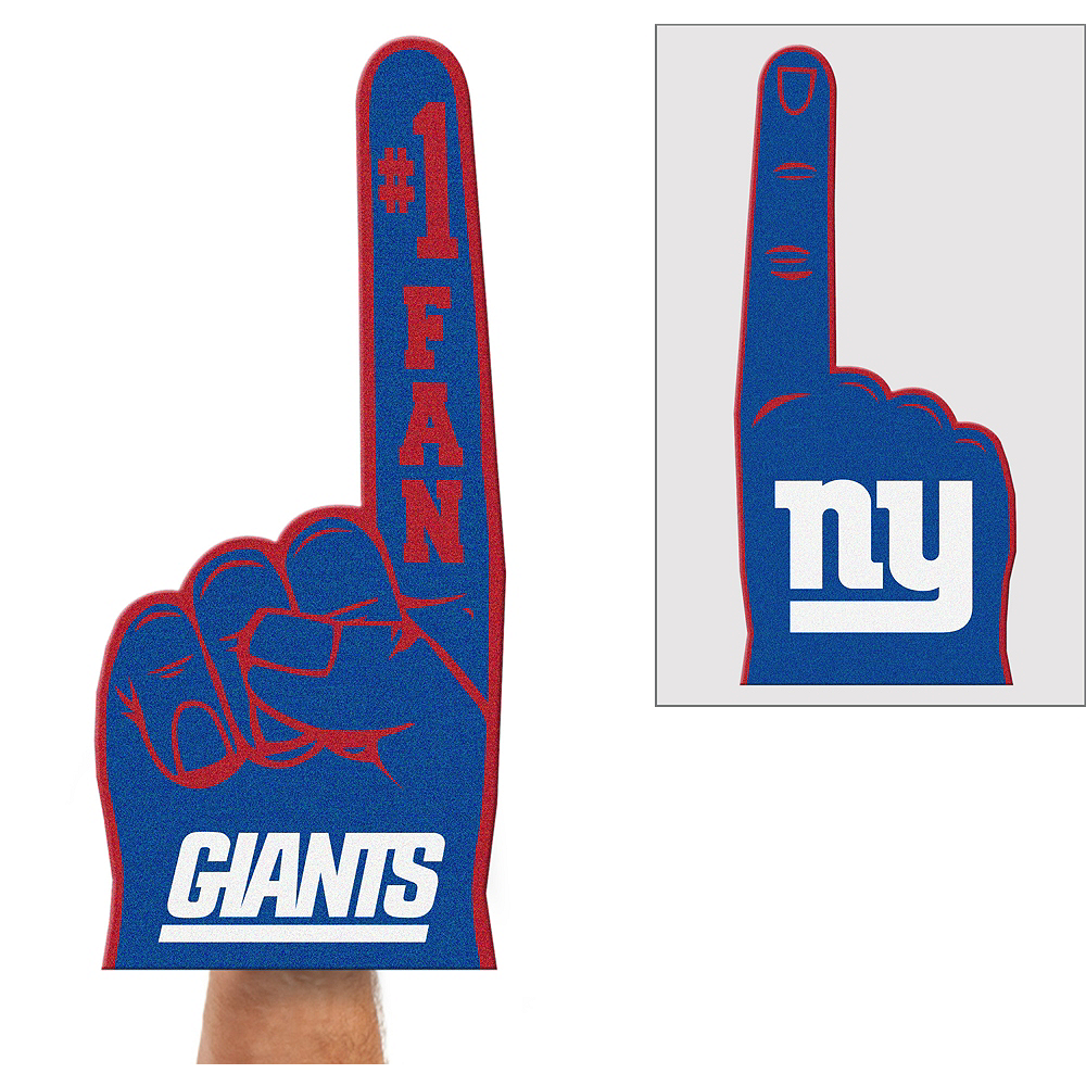 New York Giants Foam Finger Image #1
