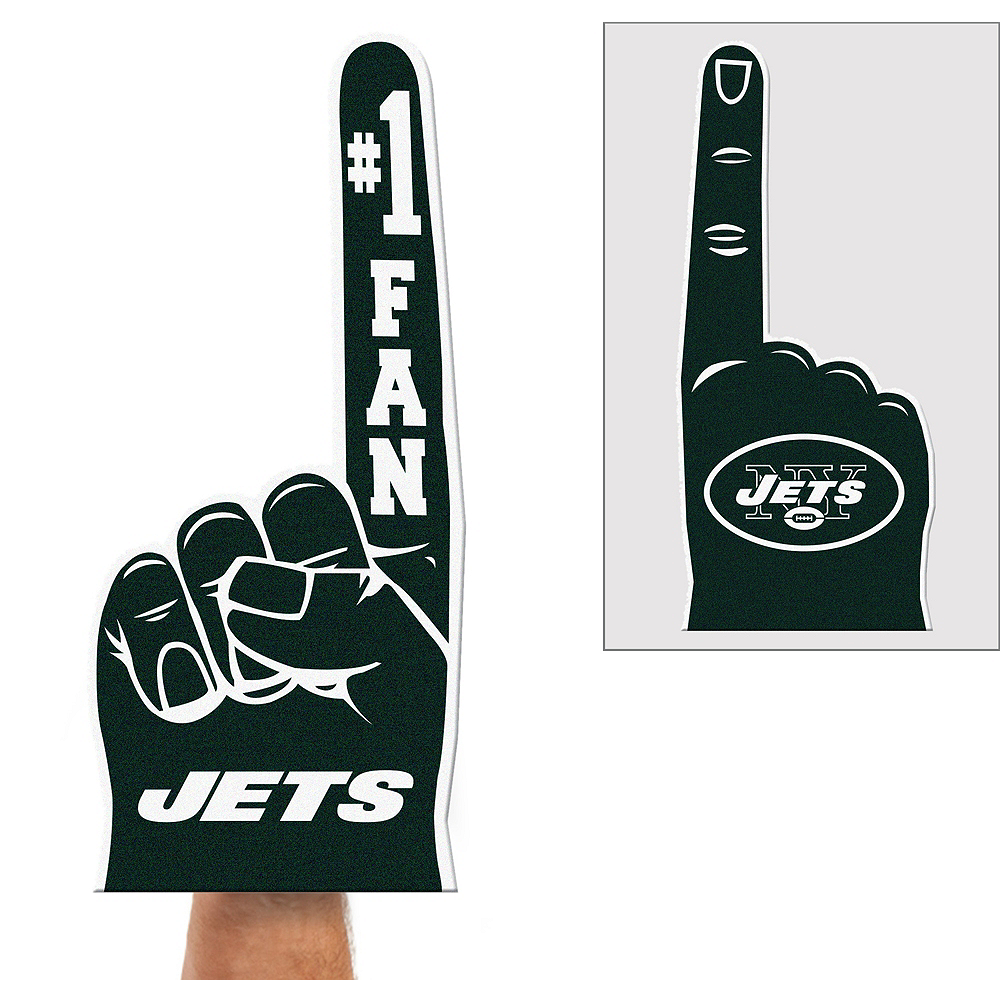Nav Item for New York Jets Foam Finger Image #1