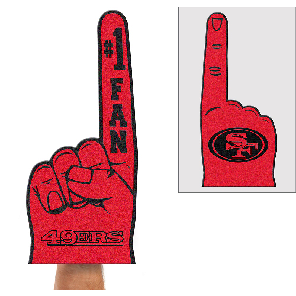 San Francisco 49ers Foam Finger